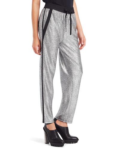 KENNETH COLE NEW YORKBrody Metallic Drawstring Pants