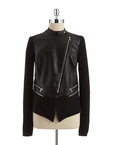 KENNETH COLE NEW YORKReilly Faux Leather Jacket