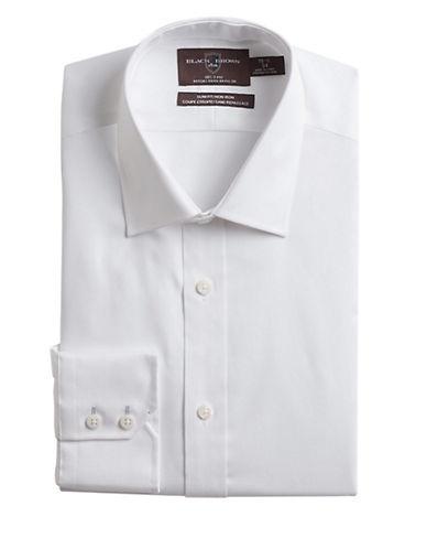 BLACK BROWN 1826Slim Fit Cotton Dress Shirt