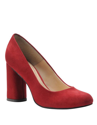 ISOLA Eleni Suede Pumps in Red