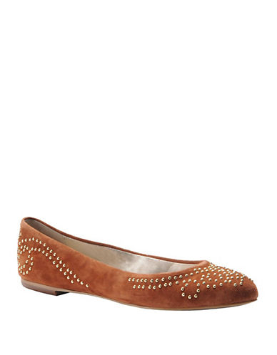 ISOLA Basanti Suede Studded Flats