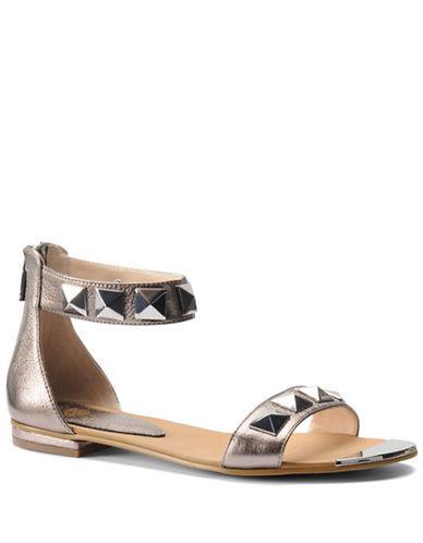 ISOLAAdette Studded Metallic Leather Sandals