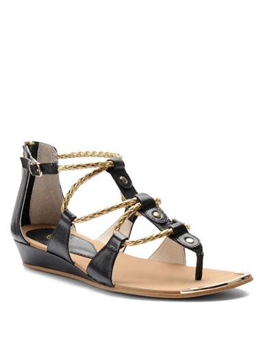 ISOLAAudora Leather Wedge Sandals