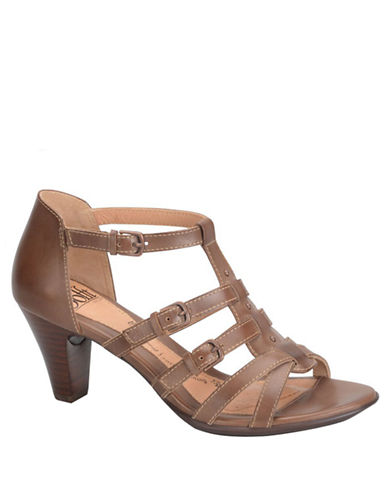 SOFFTSolana Leather High-Heel Sandals