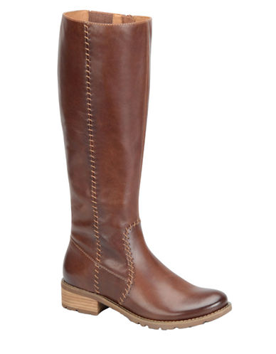 SOFFTAdabelle Wide Calf Leather Boots