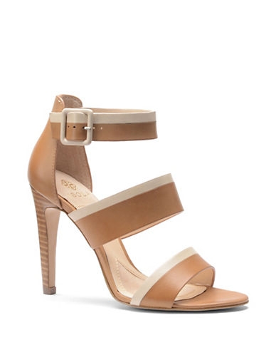 ISOLA Brianna High-Heel Leather Sandals