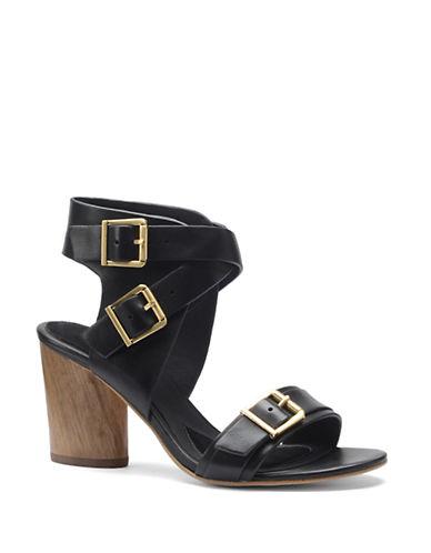 ISOLALisinda High-Heel Leather Sandals