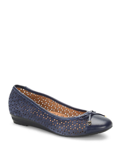 SOFFT Selima II Perforated Leather Flats