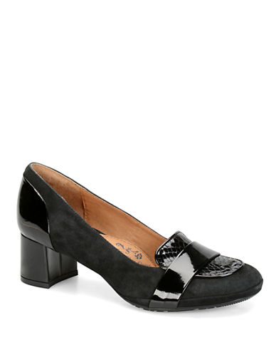 SOFFT Verbena Suede and Leather Loafers