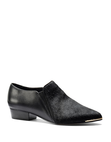 ISOLA Calf Hair and Leather Loafers