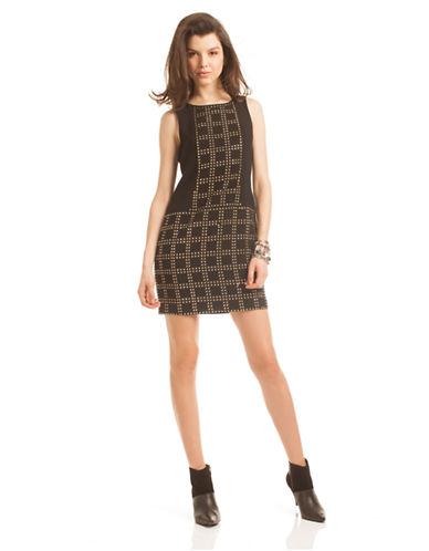 TRINA TURKBlake Geo Studded Shift Dress