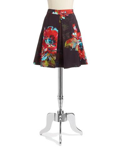 TRINA TURKFloral Pleated Skirt