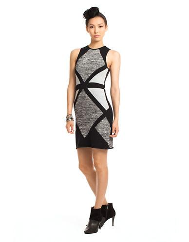 TRINA TURKDeirdre Colorblock Knit Sheath Dress