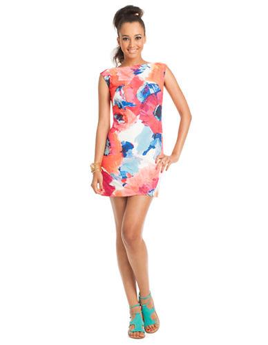 Shop Trina Turk online and buy Trina Turk Felana Floral Shift Dress dress online