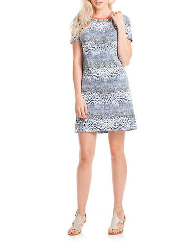 Shop Trina Turk online and buy Trina Turk Zale Abstract Shirt Dress dress online