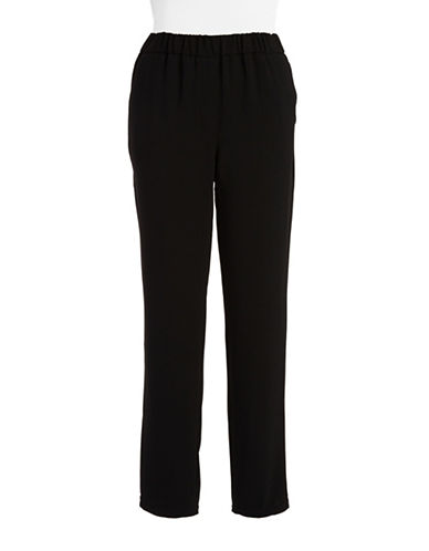 TRINA TURK Knit Straight-Leg Pants