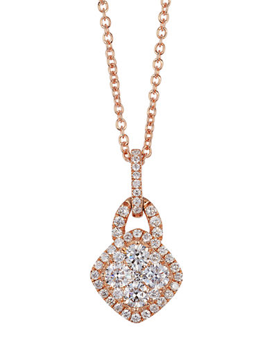 LEVIAN14Kt. Yellow Gold and Diamond Pendant Necklace