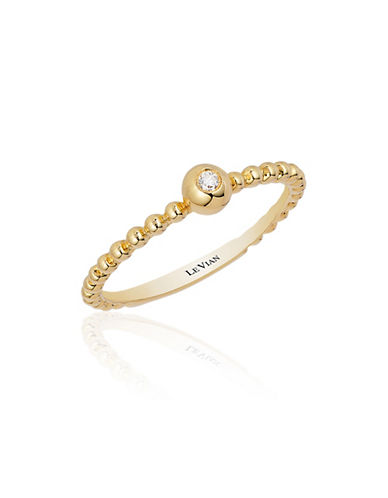 LEVIAN 14K Gold Vanilla Diamond Ring