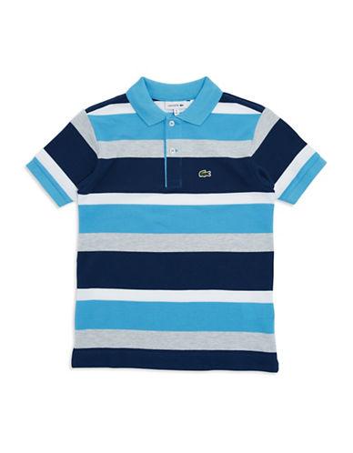 LACOSTEBoys 2-7 Striped Polo