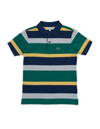 LACOSTEBoys 8-20 Striped Polo