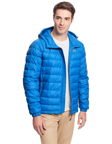 LACOSTE Packable Down Puffer Jacket