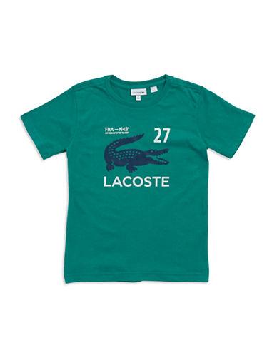 LACOSTEBoys 2-7 Croc Tee