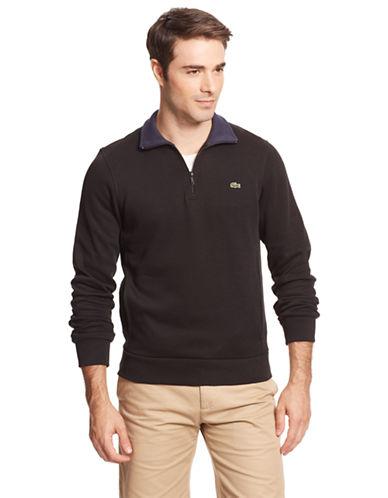 LACOSTE1/4-Zip Lightweight Sweatshirt
