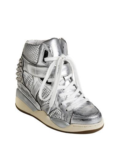 ASHFreak Leather Wedge Sneakers
