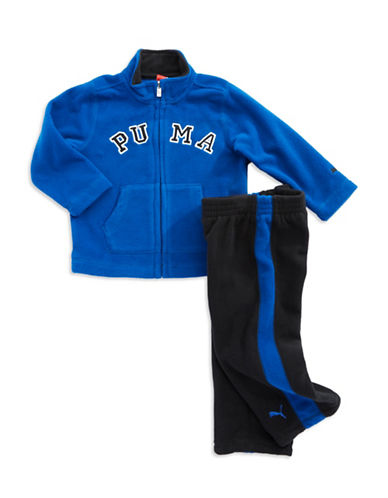 PUMA Baby Boys Two Piece Fleece Active Set