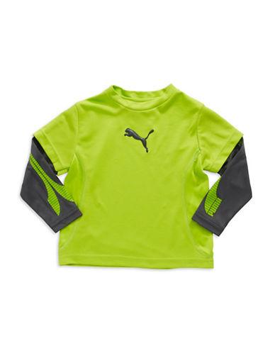 PUMABoys 2-7 Mock Layered Active Shirt