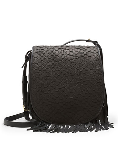 VINCE CAMUTO Andy Embossed Leather Crossbody Bag