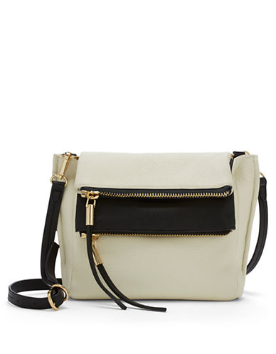 VINCE CAMUTO Faye Leather Crossbody Bag