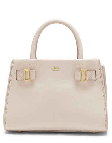 VINCE CAMUTO Eli Leather Small Satchel