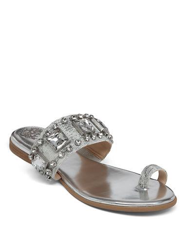 ad7dc12ad0d4 UPC 886742215229 product image for UPC 886742215229 product image for Vince  Camuto Amarilis Leather Embellished Slide Sandals