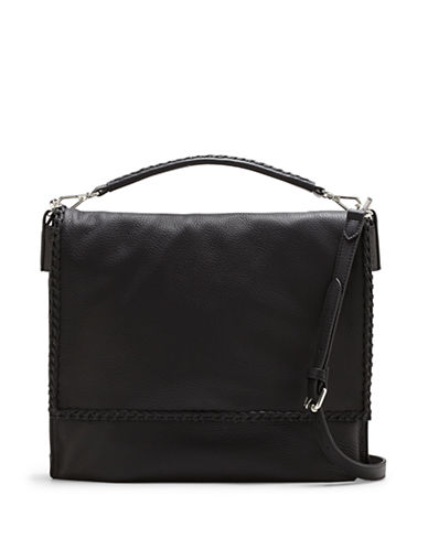 Vince Camuto Lacy Leather Messenger Bag