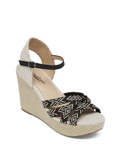 Buy Mahima Wedge Sandals by Lucky Brand online