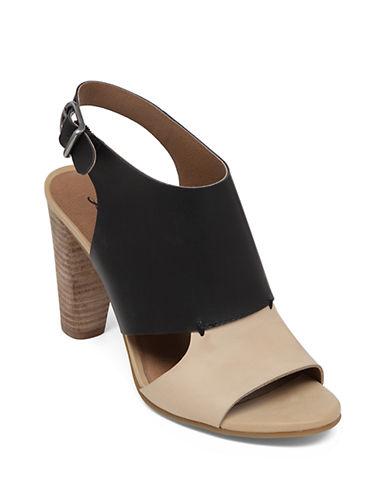 LUCKY BRANDOtta High-Heel Leather Sandals
