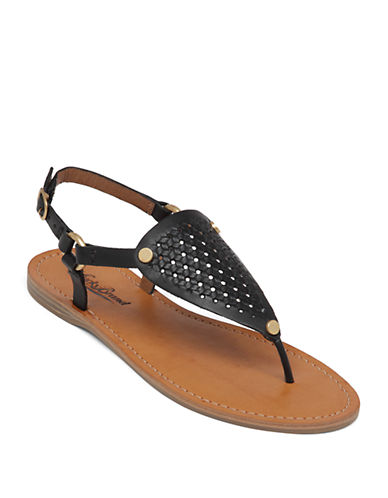 LUCKY BRAND Abell Leather Sandals