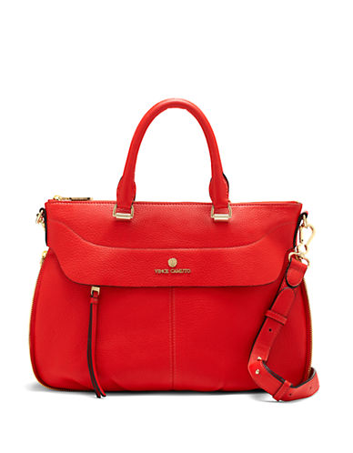 VINCE CAMUTO Dean Leather Satchel