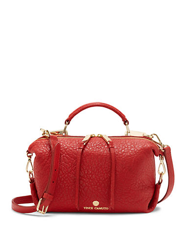 VINCE CAMUTO Riley Leather Small Satchel