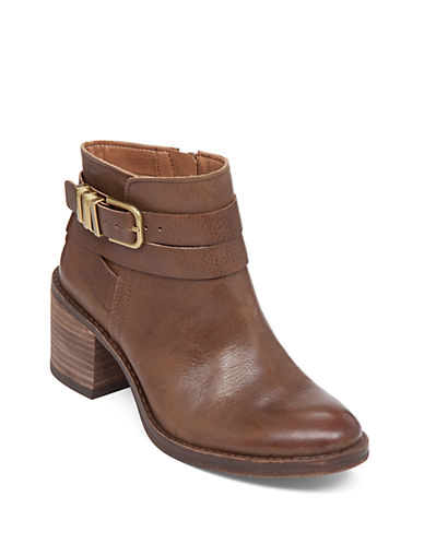 Buy Raisa Leather Ankle Boots by Lucky Brand online