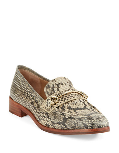 VINCE CAMUTO SIGNATUREFredrica Snake Embossed Loafers