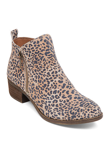 Buy Basel Zip Up Booties by Lucky Brand online