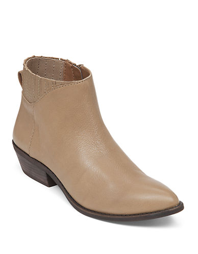Buy Jemm Leather Ankle Boots by Lucky Brand online