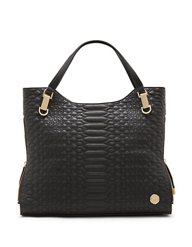 VINCE CAMUTO Riley Quilted Leather Tote
