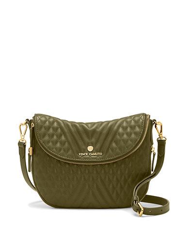 VINCE CAMUTORizo Leather Crossbody Bag