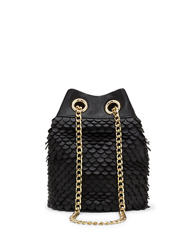 VINCE CAMUTOZigy Scalloped Leather Crossbody Bag