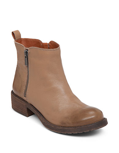 Buy Darbie Leather Booties by Lucky Brand online