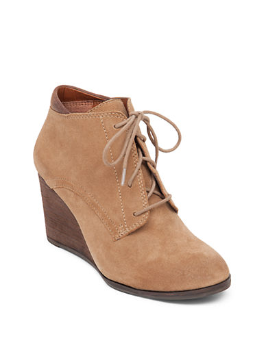Buy Sumba Suede Ankle Booties by Lucky Brand online