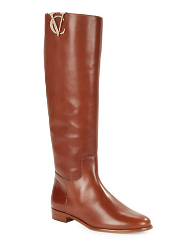 VINCE CAMUTO SIGNATURE Rena Leather Riding Boots